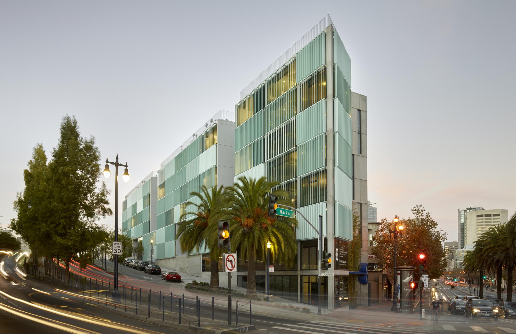 8 Octavia Stanley Saitowitz Natoma Architects Archdaily