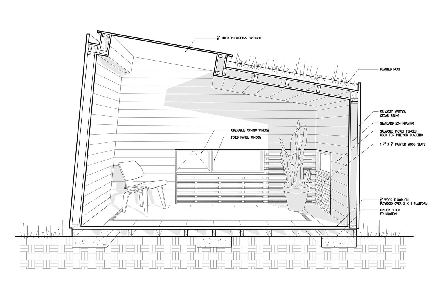 Gallery of Brooklyn Garden Studio / Hunt Architecture - 13
