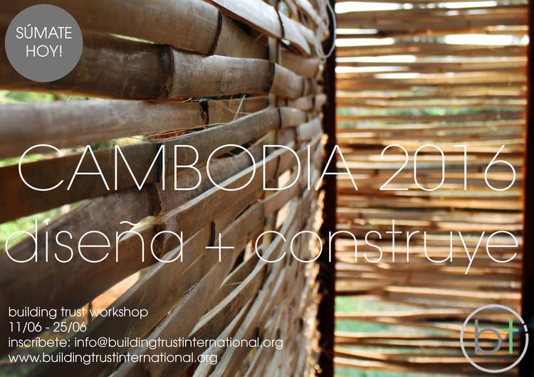 Bambú Diseña + Construye Workshop, Cambodia 2016, Bambú Diseña + Construye Workshop, Cambodia 2016
