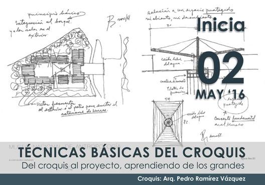 Curso 'Técnicas Básicas del Croquis' / Ciudad de México