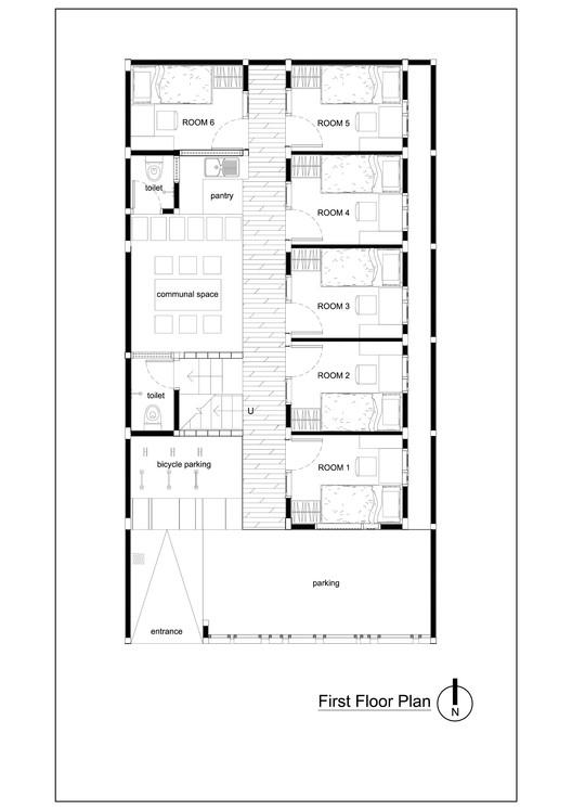 Bioclimatic And Biophilic Boarding House Andyrahman