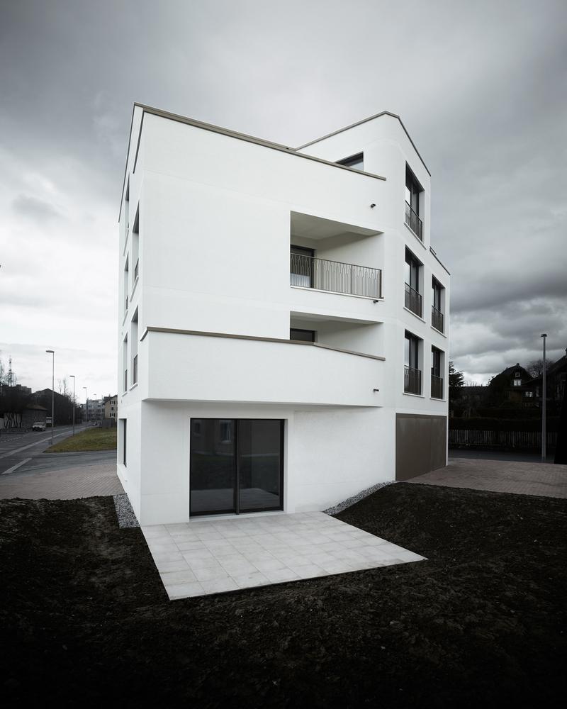 Gallery of Neubau Mehrfamilienhaus Cham / idA - 9