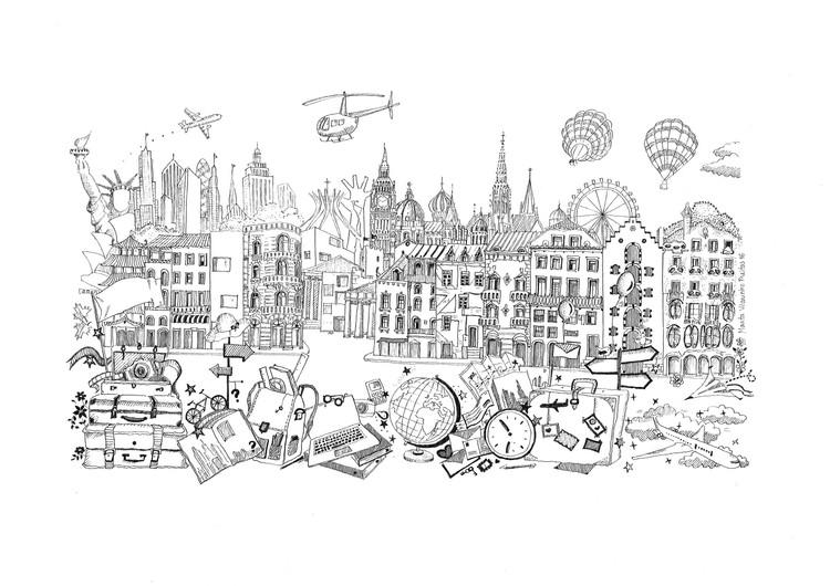 """Arte e Arquitetura: """"As cidades e a Memória – a Arquitetura e a Cidade"""" por Marta Vilarinho de Freitas - parte II, Arquitetos pelo Mundo. Image © Marta Vilarinho de Freitas"""