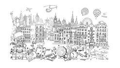 """Arte e Arquitetura: """"As cidades e a Memória – a Arquitetura e a Cidade"""" por Marta Vilarinho de Freitas - parte II"""