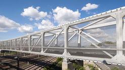 Puente peatonal Hausbergen / Wienstroer Architekten Stadtplaner