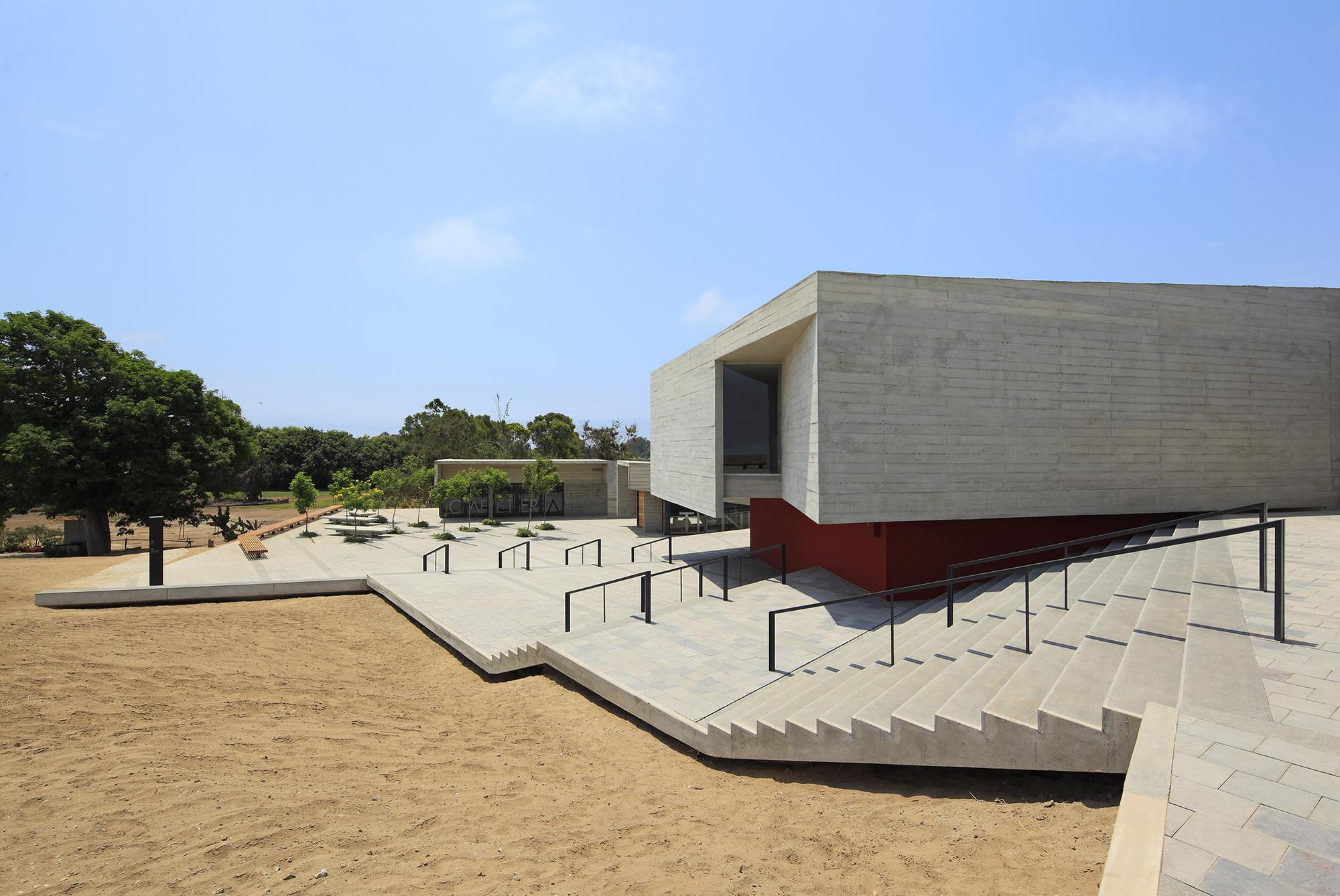 Museo De Sitio Pachacamac Llosa Cortegana Arquitectos