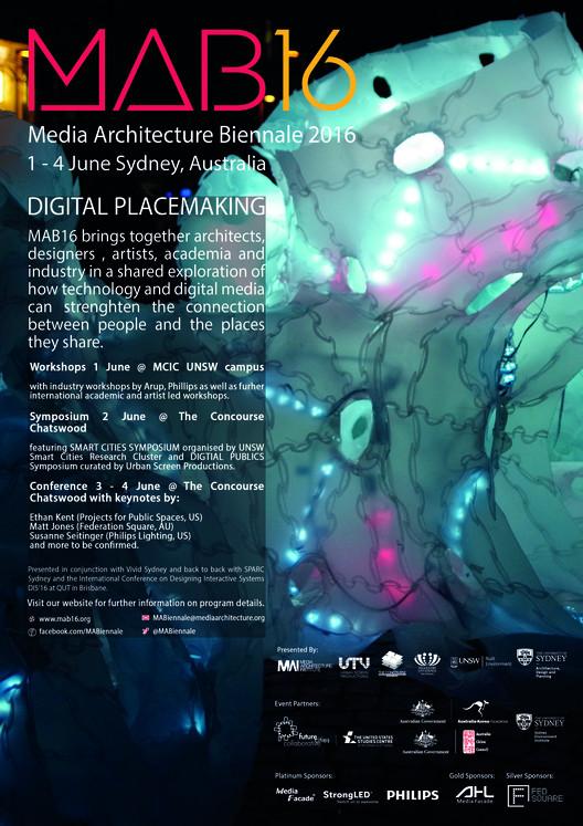 Media Architecture Biennale 2016, Media Architecture Biennale 2016