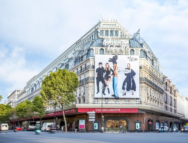 AL_A to Redesign Flagship Galeries Lafayette in Paris, via Galeries Lafayette group