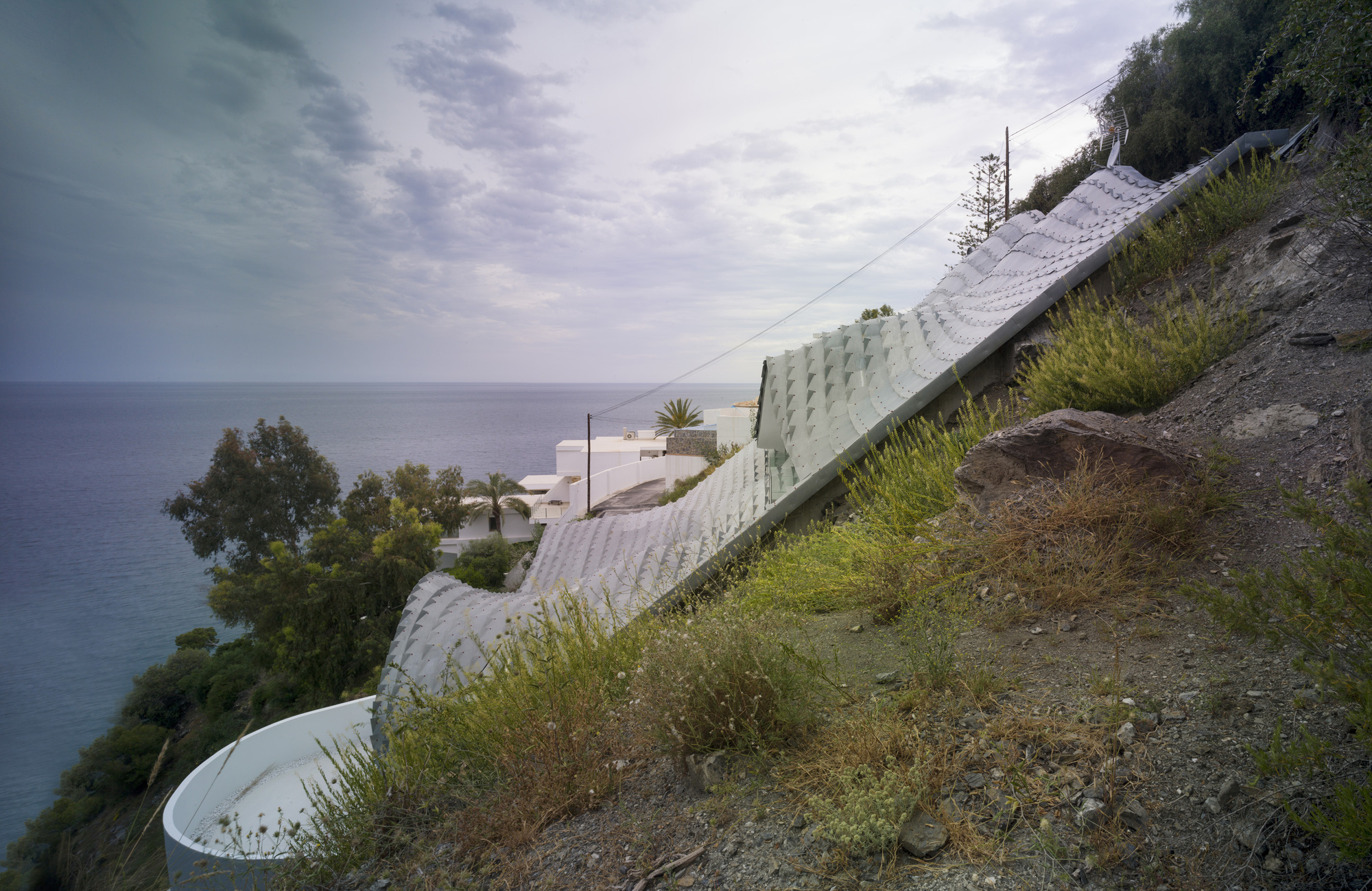 The House On The Cliff Gilbartolome Architects Archdaily