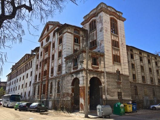 The Demolition of Plovdiv's Tobacco Warehouse Demands a New Response from Citizens, The Tobacco Warehouse before demolition. Image © Open Arts Foundation