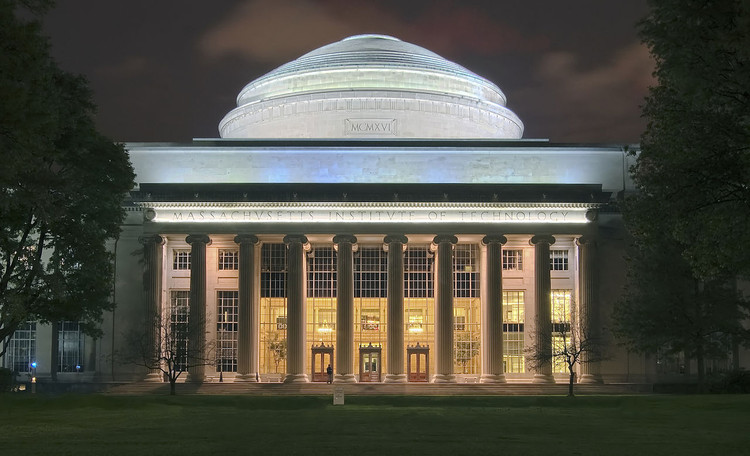 Ranking 2016 das 100 melhores faculdades de arquitetura do mundo, Massachusetts Institute of Technology (MIT). Imagem © Wikimedia user Fcb981 licensed under CC BY-SA 3.0