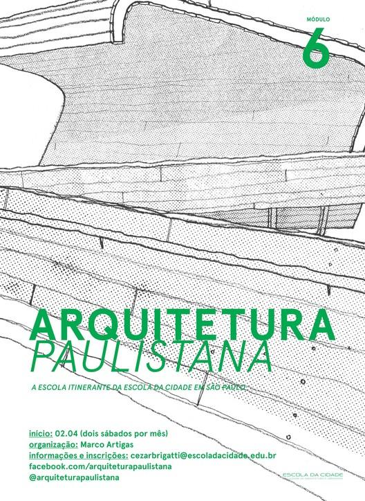 Curso Livre Arquitetura Paulistana – Módulo 6