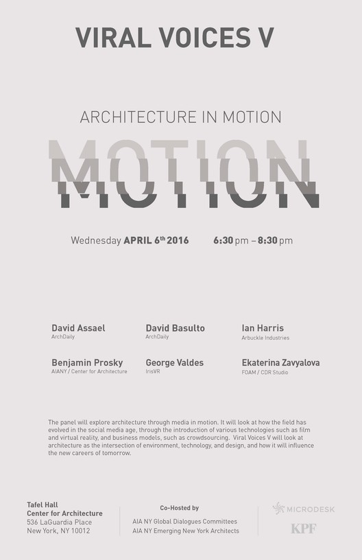 Viral Voices V: Architecture in Motion