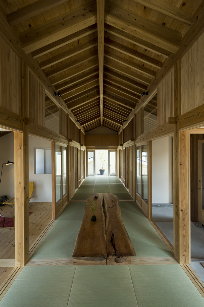 Inari House Tokmoto Architectures Room Archdaily