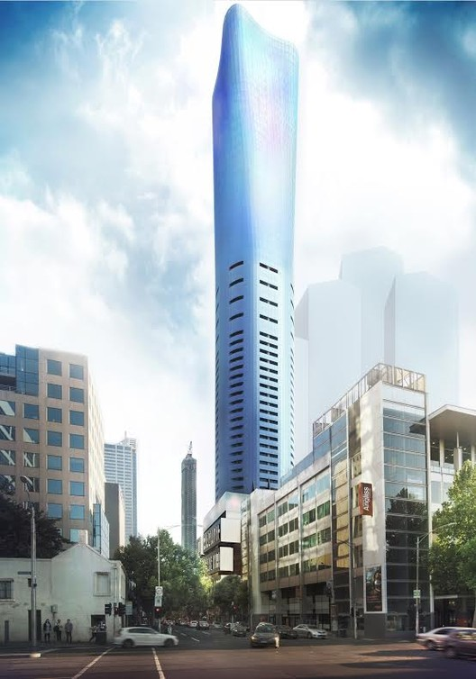 Brâncuși-Inspired 295 King Street Wins Approval in Melbourne , Courtesy of Plus Architecture