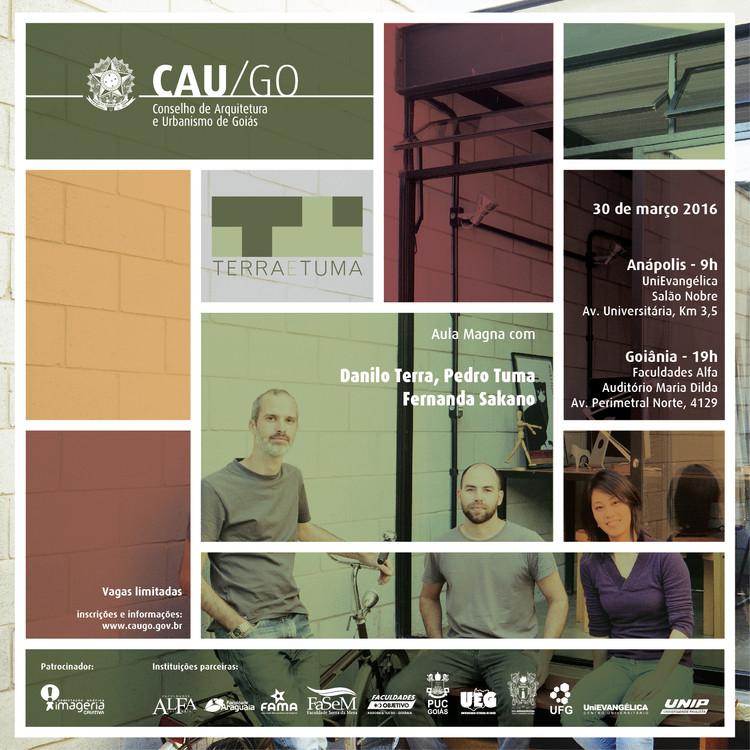 CAU/GO promove aula magna com Terra e Tuma