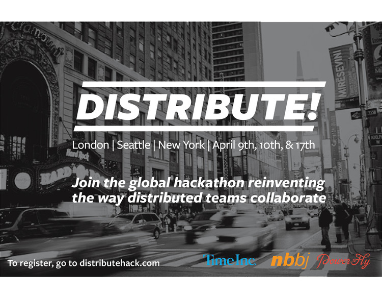 DISTRIBUTE! HACK 2016