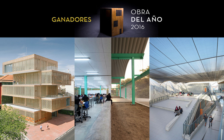 #ODA16: Conoce a los ganadores del Premio Obra del Año 2016