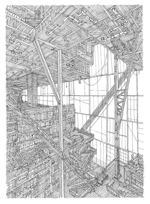 """Arte e Arquitetura: """"O Condomínio Absoluto"""", por Carlos Teixeira e Vasco Mourão, © Vasco Mourão"""