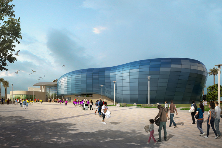 Aquarium of the Pacific Reveals New Design for Major Expansion, Courtesy of EHDD