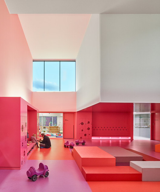 Nursery in Buhl / Dominique Coulon & associés, © Eugeni Pons