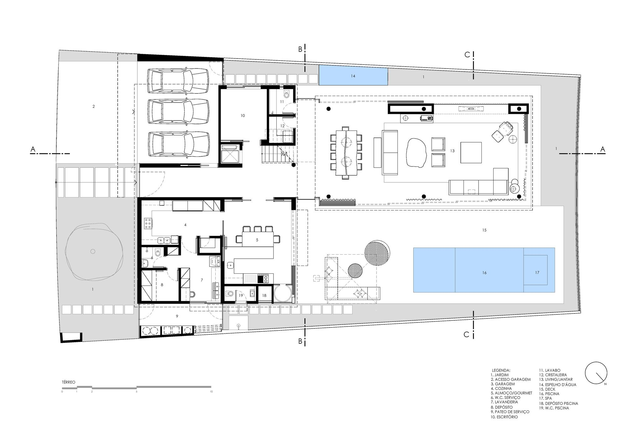 Galeria De Projeto Resid 234 Ncia Alphaville Mass