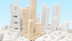 UNStudio Chosen to Transform Former Deutsche Bank Site in Frankfurt