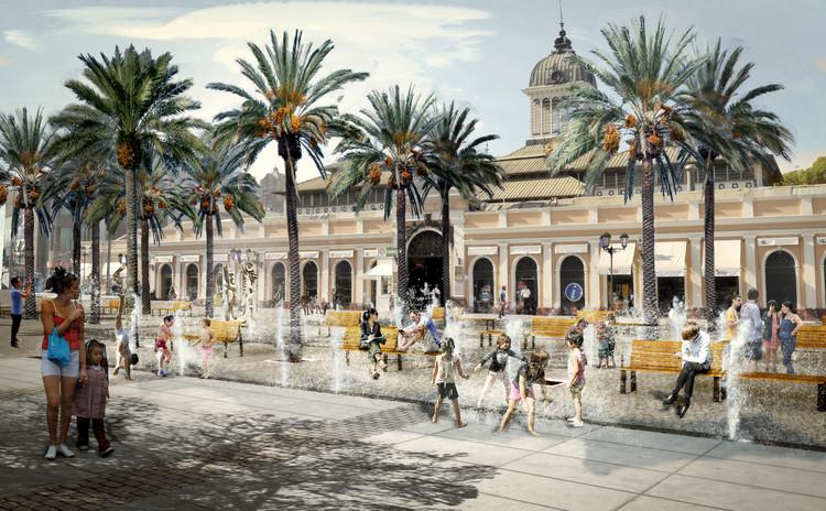 SHIFT arquitectos & Asociados, segundo lugar en concurso de la nueva Explanada de los Mercados en Santiago, Cortesía de SHIFT arquitectos & Asociados