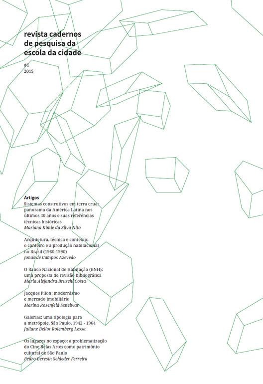 """Lançamento da primeira edição da revista """"Cadernos de Pesquisa da Escola da Cidade"""""""
