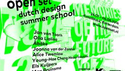 Call for Applications: Dutch Design Summer School