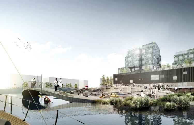 C.F. Møller Wins Competition to Masterplan Copenhagen Shoreline, © C.F. Møller Landscape