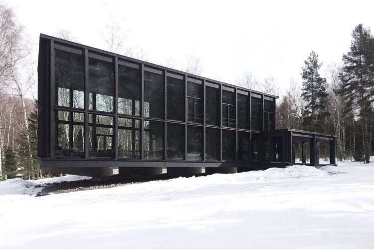 Guest&Bath House   / FAS(t) architectural bureau , Courtesy of FAS(t)
