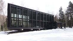 Casa de invitados y de baño  / FAS(t) architectural bureau