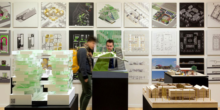 Buy Land for a Dollar! Converting Chicago's 15,000 Vacant Lots Into Booming Public Space, The Available City exhibition at the Chicago Architecture Biennial. Courtesy David Schalliol
