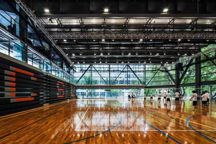 Ginásio de Esportes do Colégio São Luís / Urdi Arquitetura, © Nelson Kon