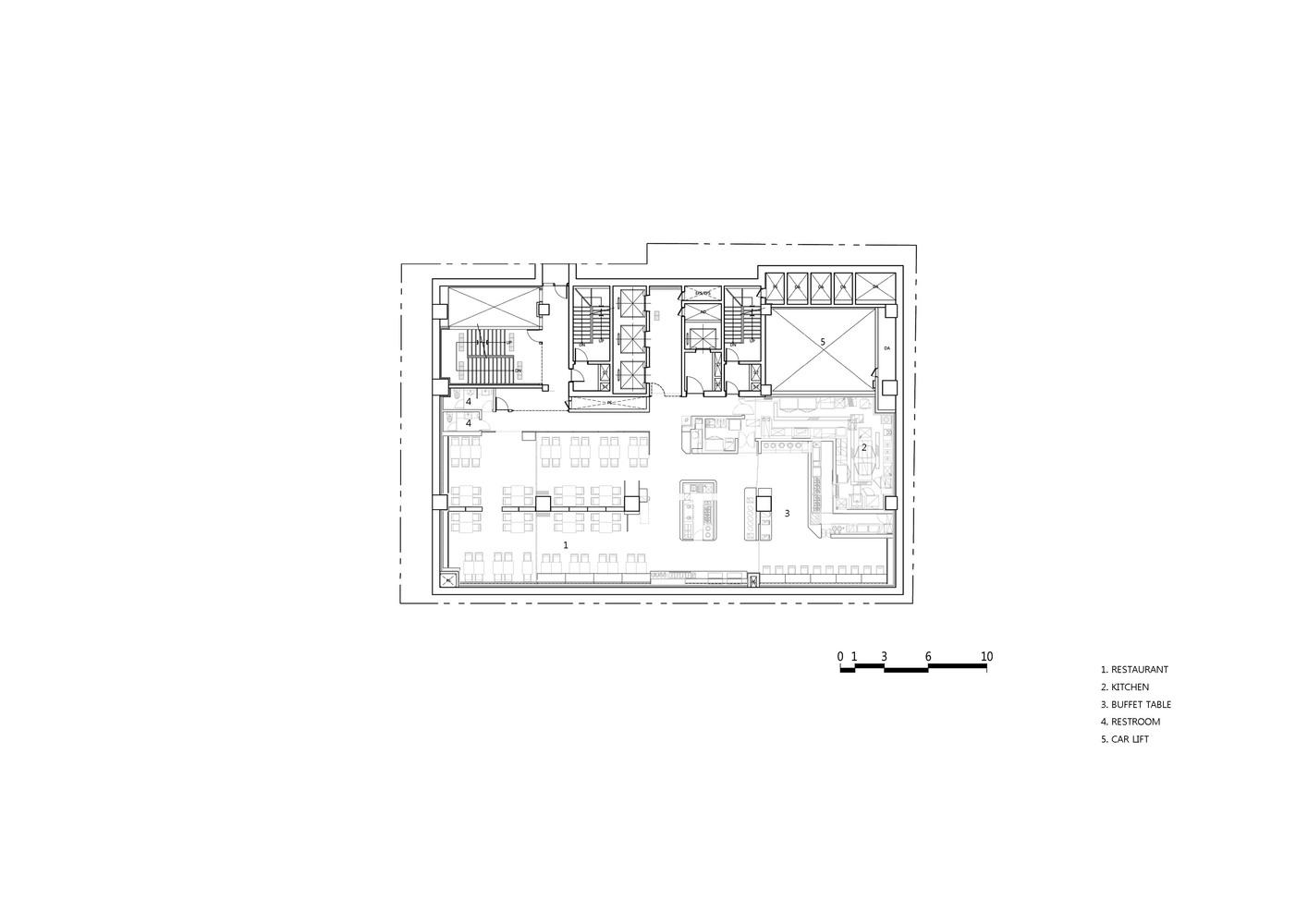 Gallery Of Dormy Inn Premium Garosugil Planearth Architects 25 Car Lift Schematic Garosugilplan 5