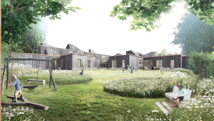 Creo arkitekter and jaja to design home for children with for Home architects near me