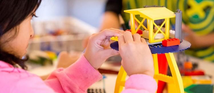 Cambridge Science Festival Family Design Day: Imagine Boston with LEGO® Bricks, Image: Mike Lawrie.