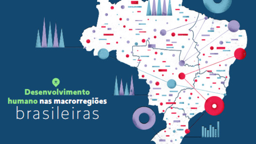 Diferença de IDHM entre regiões brasileiras diminuiu nas últimas décadas, via PNDU Brasil