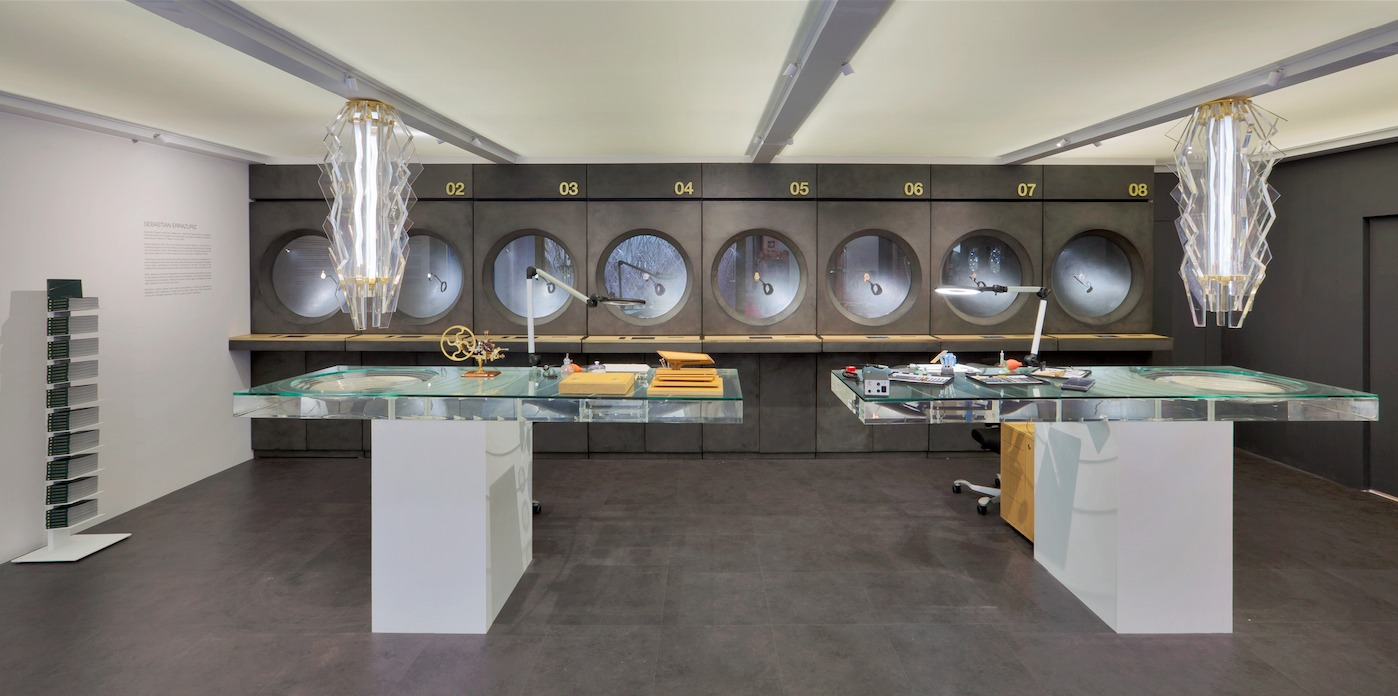 Sebastian Errazuriz Designs Audemars Piguets New Lounge At Art Basel Hong KongCourtesy Of