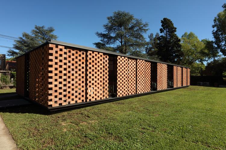 Pavilhão Experimental de Tijolos / Estudio Botteri-Connell, © Gustavo Sosa Pinilla