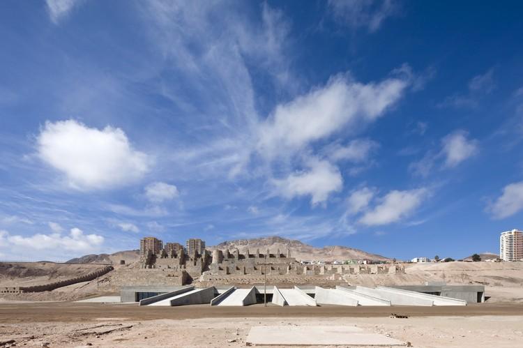 Museu do Deserto do Atacama, Monumento Ruínas De Huanchaca / Coz, Polidura y Volante Arquitectos, © Sergio Pirrone
