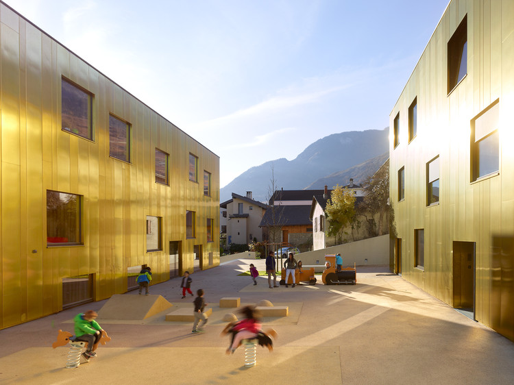 Pre/Post-School  / Savioz Fabrizzi Architectes, © Thomas Jantscher