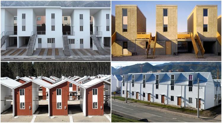 ELEMENTAL publica la planimetría de 4 proyectos de vivienda social para su libre uso