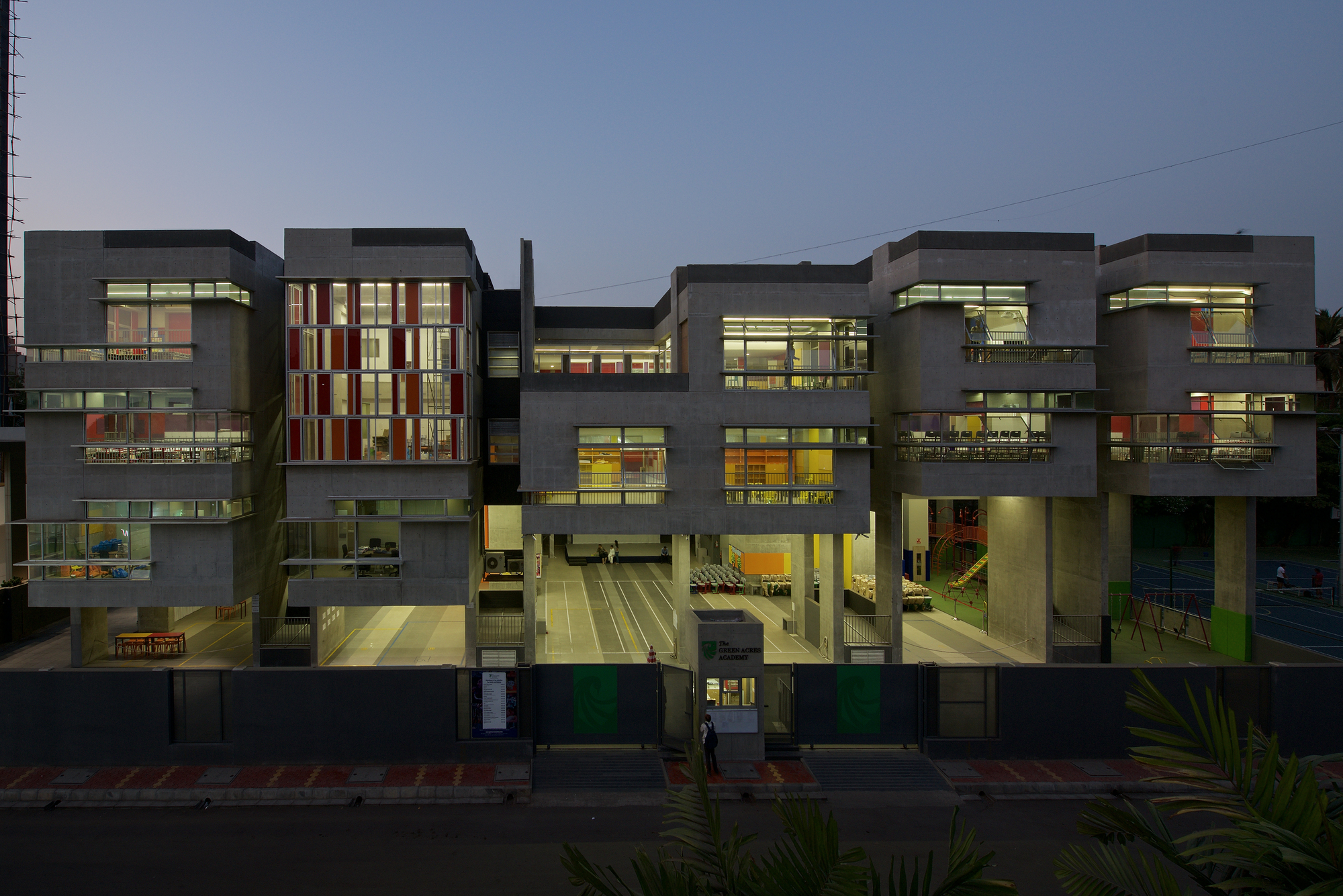 The Green Acres Academy Tushar Desai Assosiates Archdaily