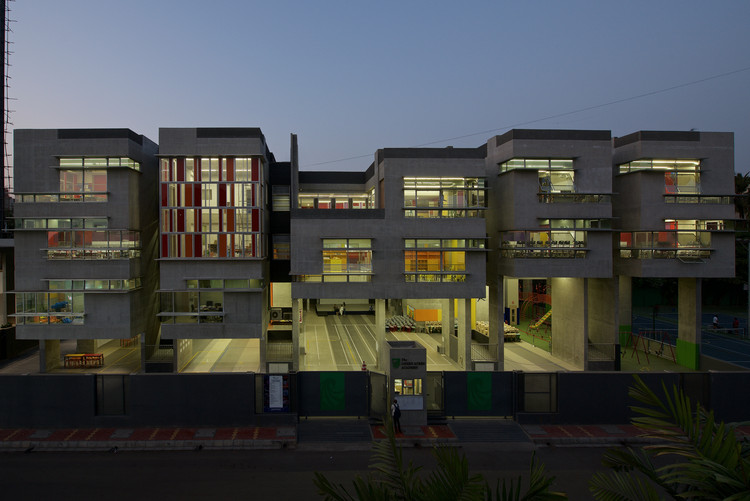 The Green Acres Academy / Tushar Desai Assosiates, © Photographix India