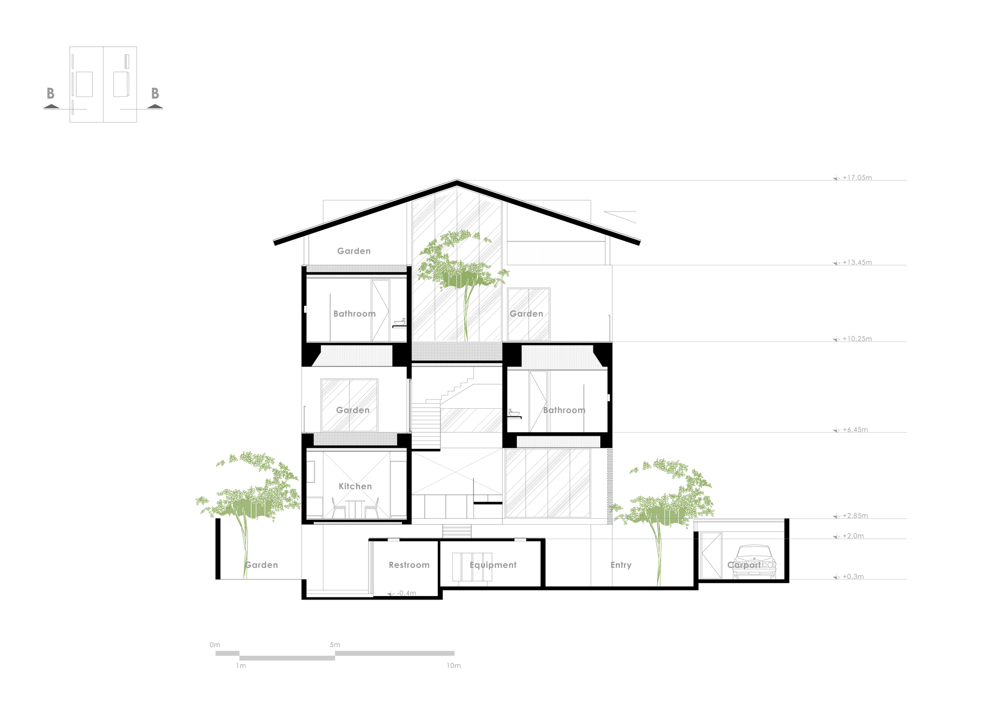gallery of floating house nha dan architects 36