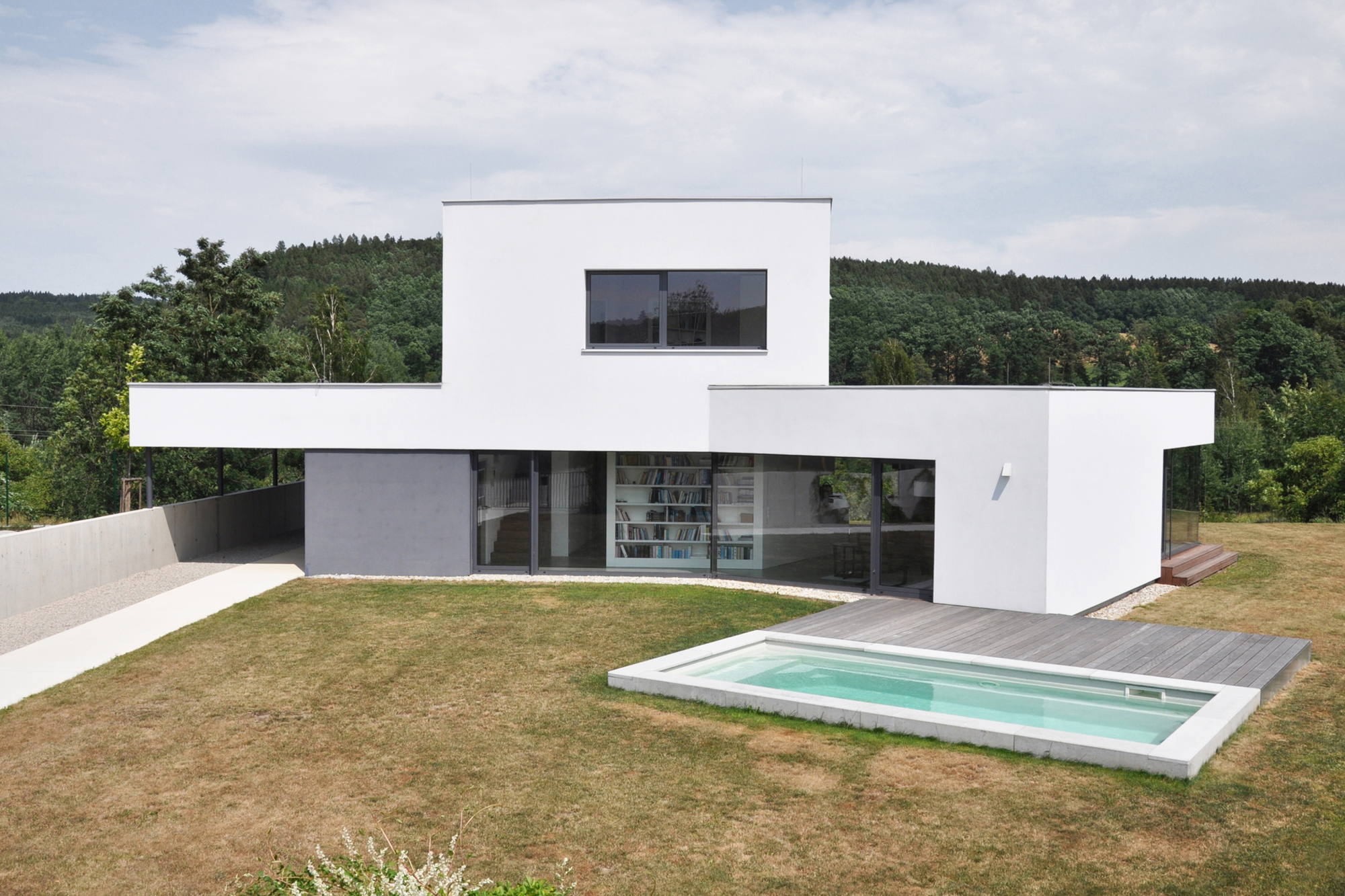 Foresta Floor Plan Family House Atelier 111 Archdaily