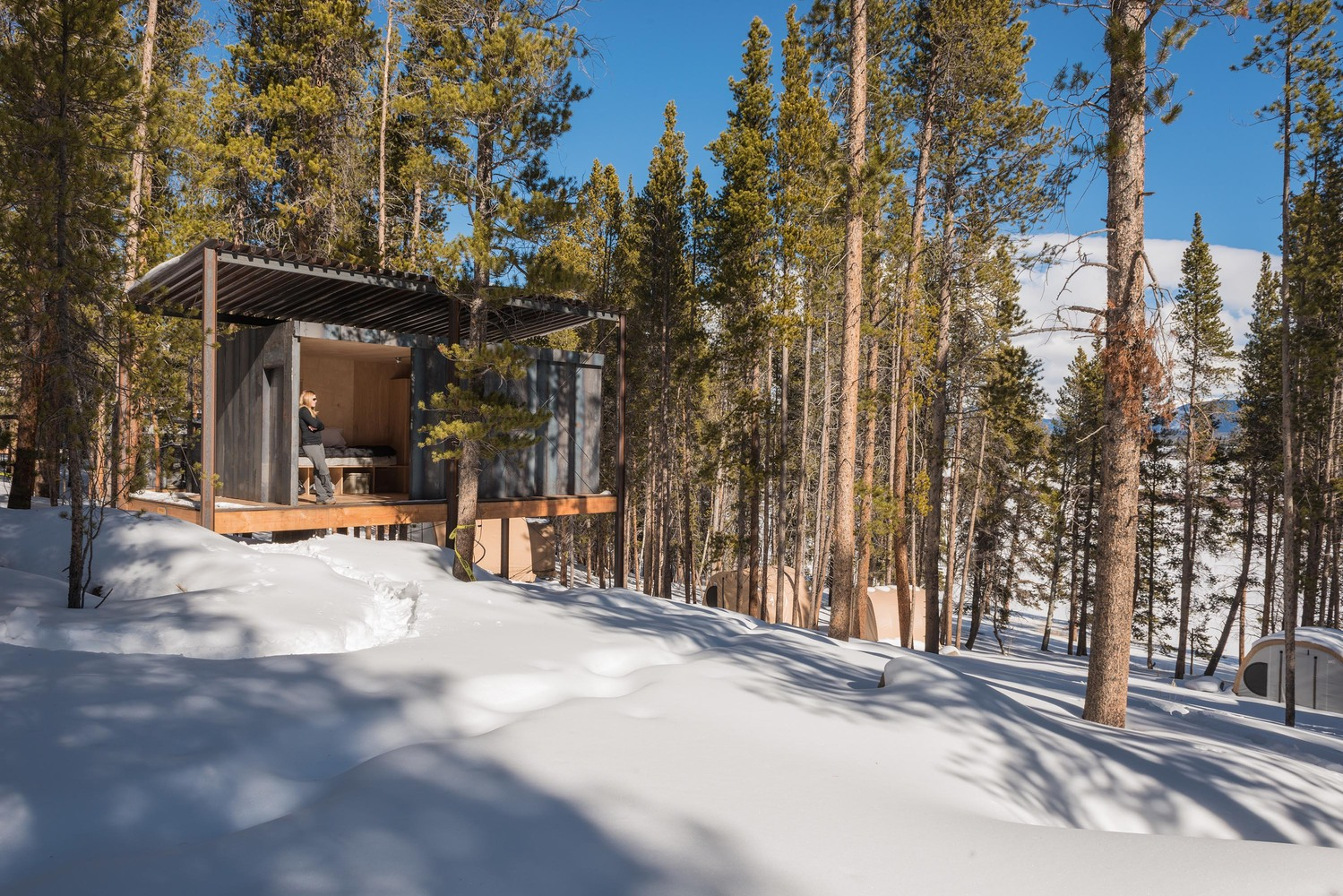 cabin denver frame photo caf a by cabins alpine modern alana paterson whistler