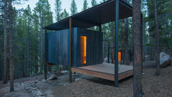 Colorado Outward Bound Micro Cabins / University of Colorado Denver